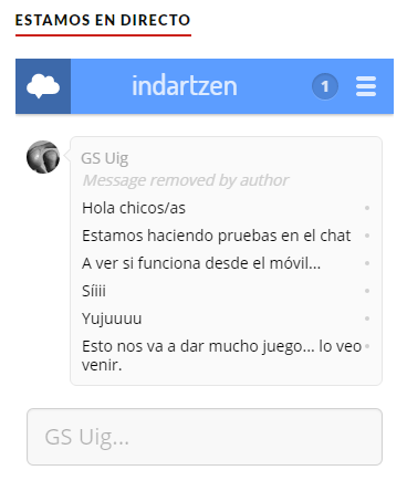 Indartzen-chat